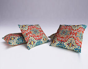 3D model Moroccan Cushion contemporary