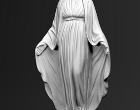 3D model Virgin Mary statue