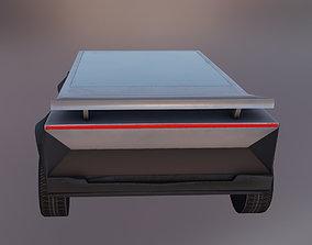 3D asset Cyber Sport Car