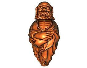 Bodhidharma 3D print model