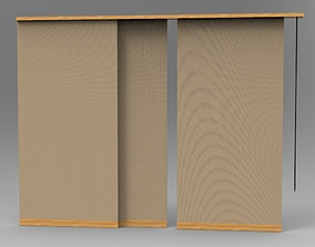 Curtain 4 3D printable model