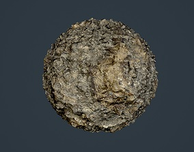 Rock Ground Seamless PBR Texture 05 3D model