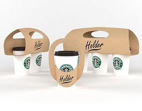 3D beverage Coffee Cup