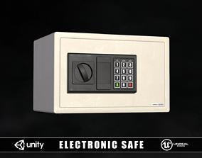3D model Electronic Safe