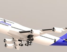 BOEING 747-8 3D MODEL FOR 3D PRINT MADE ON SOLIDWORKS
