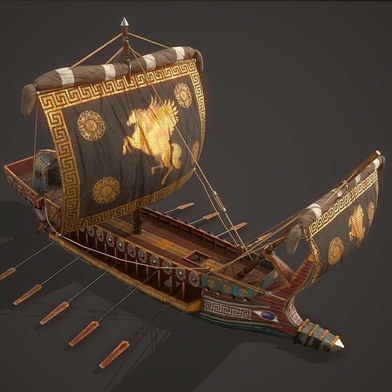 Ancient Ship 01