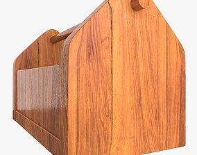 Wooden Tool Box 3D