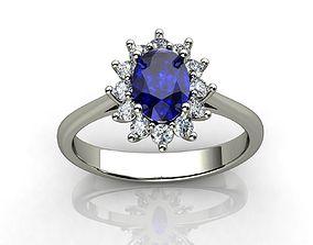 Princess Diana Ring 3D printable model