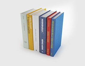 3D model Back book only