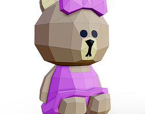 3D model Bear Choco