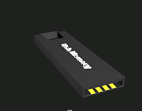 low-poly 3D Usb Memory