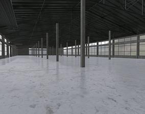 3D asset Modular warehouse