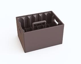 3D Plastic crate 14