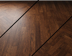 3D model Parquet Oak Coswick Inspire MILK CHOCOLATE dark