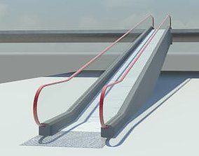 Moving walkway 3D