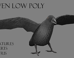 3D asset Raven
