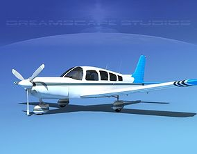 3D model Piper Cherokee Six 300 V11