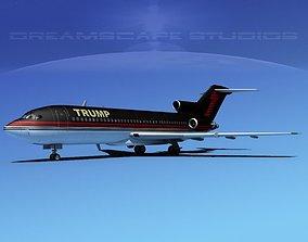 Boeing 727-100 Trump 3D