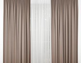 interior Curtain 3D