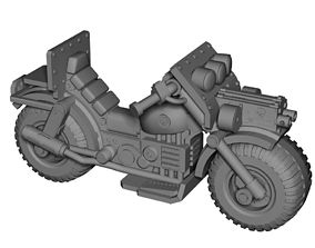 28mm Astro bike 3D printable model
