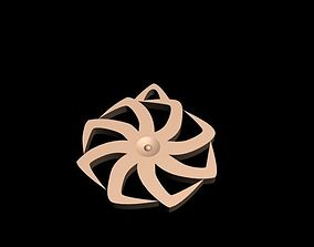 3D printable model Kolovrat Star Pendant