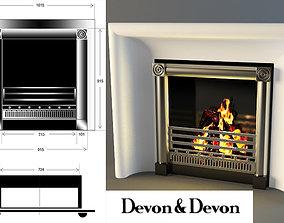 3D model Devon and Devon Fireplace