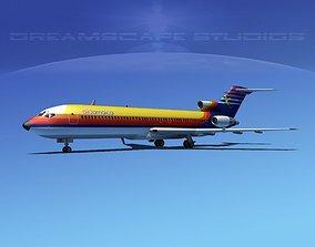3D Boeing 727-200 Air Jamaica