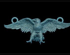 Eagle pendant prey 3D print model