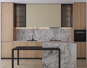 3D model Kitchen set2