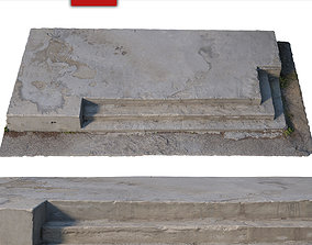 3D Stairs steps models