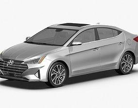 2019 Hyundai Elantra tucson 3D model