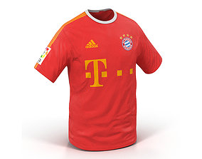 T-Shirt Bayern 3D model