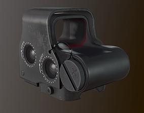 3D asset Eotech exps2 Holographic Sight