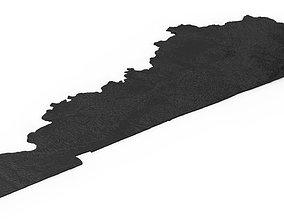 Kentucky Relief Map 3D printable model