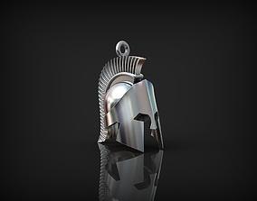 Spartan helmet Pendant 3D printable model