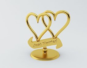 Just Married Showpiece 3D printable model