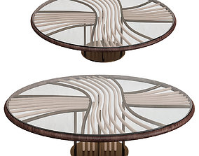 low-poly Zanaboni Edizioni SUNRISE COFFEE TABLE 3d model