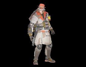 game-ready Killing Joke Caustic 3d model