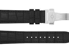 3D model Strap watch Reptile black PBR