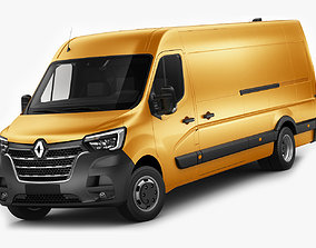 3D Renault Master Van L4H2 2019
