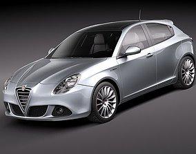 3D hatchback Alfa Romeo Giulietta 2011