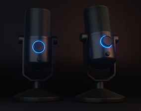 3D model game-ready Microphone
