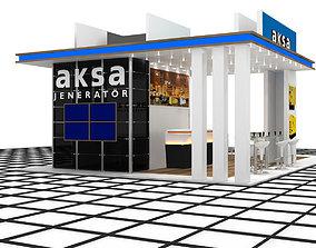 Aksa Jenerator Exhibition Design 3D model