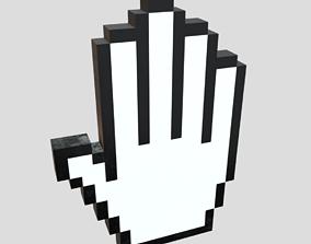 3D asset Cursor Hand 3