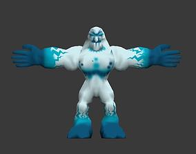 Ice Monster 3D model