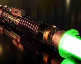3D model Obi Wan Kenobi s Light Saber