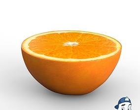 3D model Orange Half