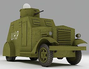 3D Armured Car Bilbao - Spanish Civil War