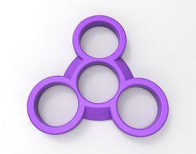 3D printable model UFO finger spinner v1