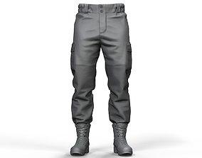 Military Uniform Gorka Pants 3D